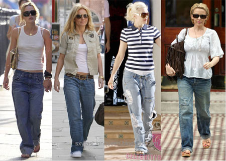 Other Celebrities Wearing Boyfriend Jeans