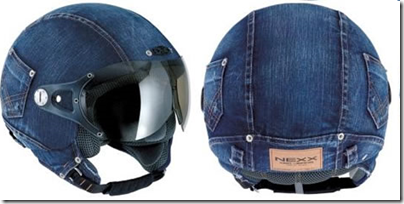 denim helmets