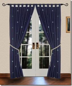 denim curtains