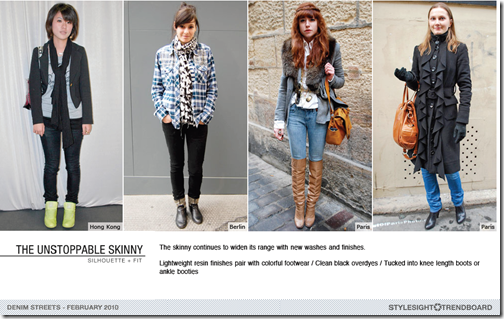 skinny jeans trends women