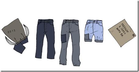 jeans environment friendly