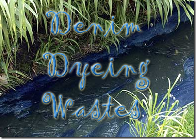 denim dyeing wastes
