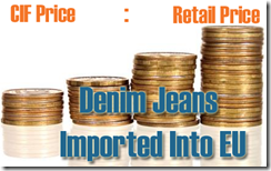 denim jeans imported in eu
