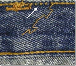 denim stitching thread