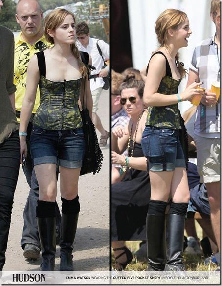 emma watson hudson jeans