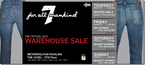 7 for all mankind jeans sale