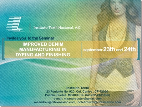 Improved denim manufacturing