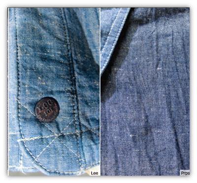 neppy chambray denim fabric trend