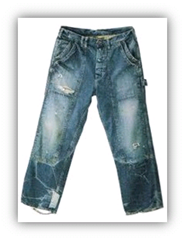 sulphur bottom denim