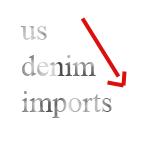 us denim imports 2011