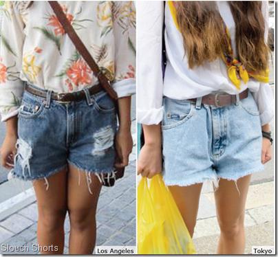 Slouch Shorts denim