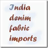 denim fabric imports