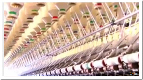 Spinning Process - Denim Manufacturing