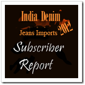 India Import of denim Jeans