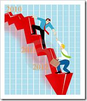 downward trend denim