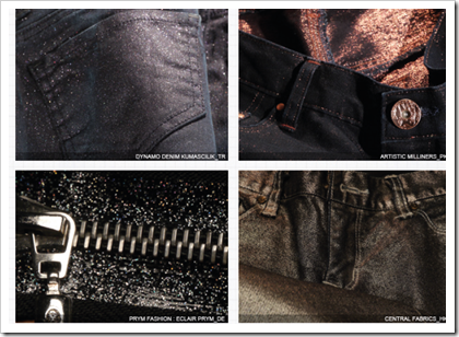 Metallic Effects - Denim Trend