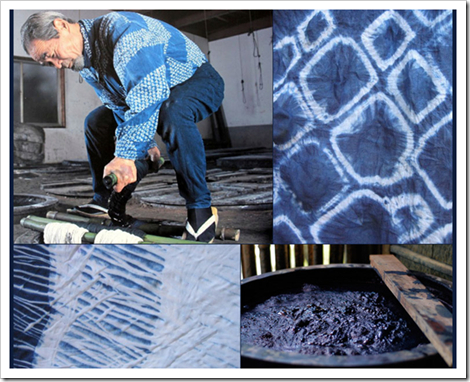Indigo Dyeing Japan