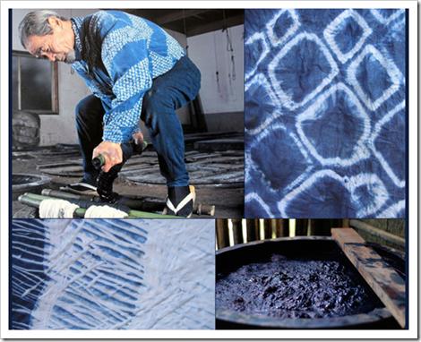 Indigo Dyeing Japan