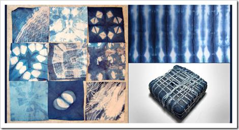 Indigo dyeing works - Japan