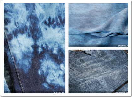 Diluted Effects on Denim : Washing Effects