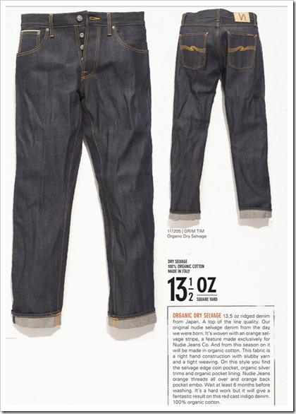 Nudie Jeans - Fall Winter 2012 - Dry Selvedge
