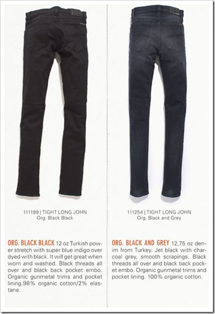 Nudie Jeans - Fall Winter 2012 - Tight Long John
