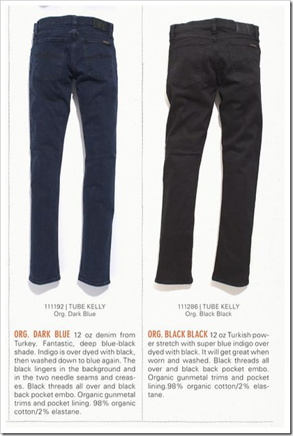 Nudie Jeans - Fall Winter 2012 - Tube Kelly