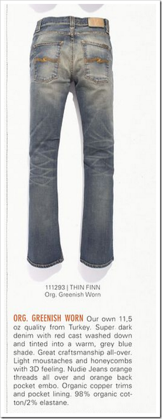 Nudie Jeans - Fall Winter 2012 - Thin Finn