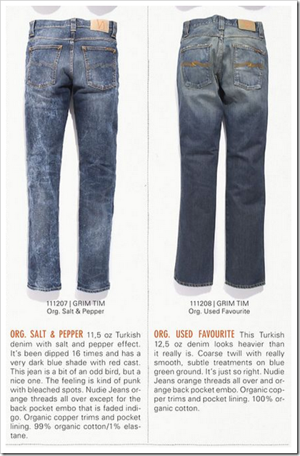Nudie Jeans - Fall Winter 2012 - Grim Trim