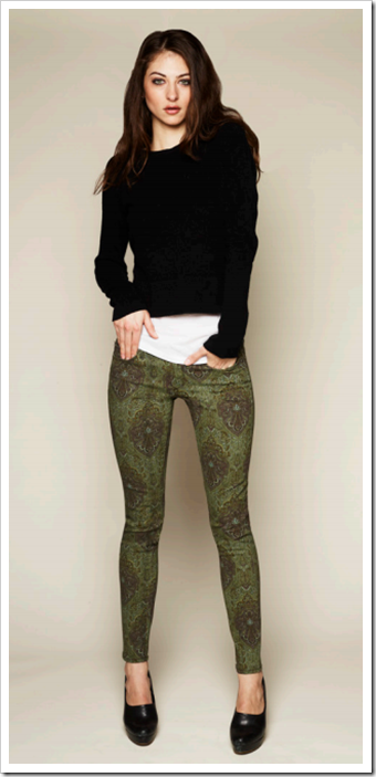 Verdugo Ultra Skinny (Estate Green) Paige Denim