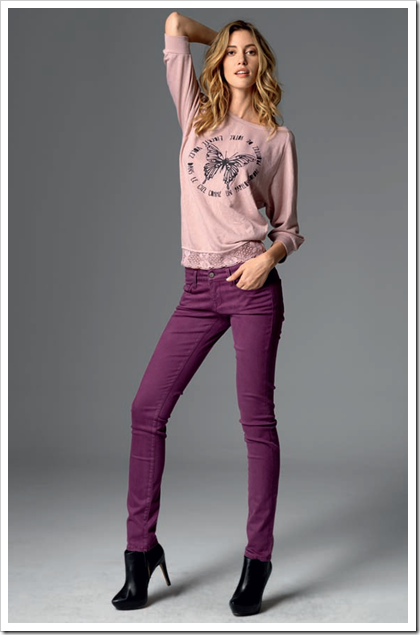 Mavi Jeans - 10670 Serena / Finish 14509 Sueded Amethyst
