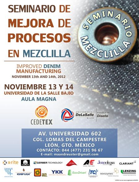 Seminario Mezclilla (Nov  13-14 2012)