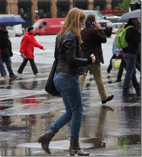 Denim Looks On Paris Streets
