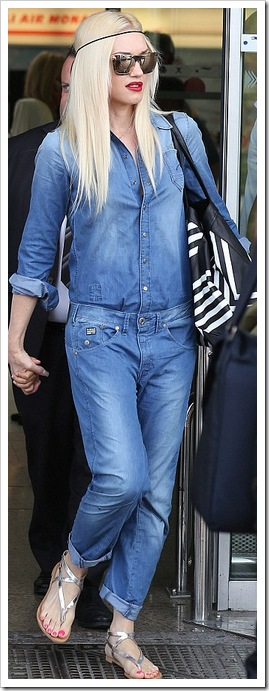 Gwen Stefani in Double Denim