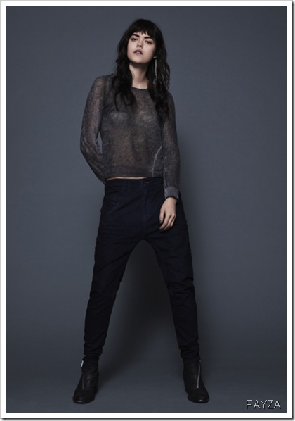 DieseL-FAYZA-Fall Winter 2013 Women's Denim Lookbook
