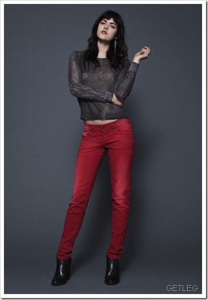 DieseL-GETLEG-Fall Winter 2013 Women's Denim Lookbook