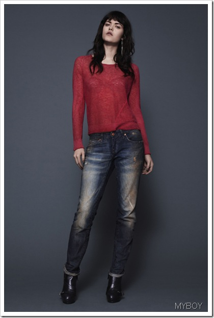 DieseL-MYBOY-Fall Winter 2013 Women's Denim Lookbook