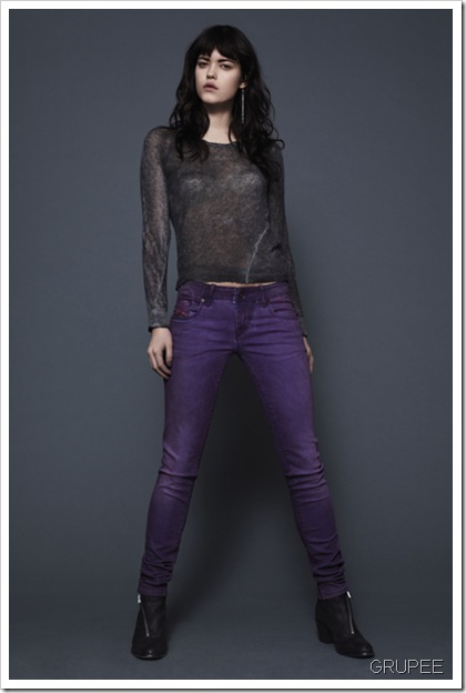 DieseL-GRUPEE-Fall Winter 2013 Women's Denim Lookbook