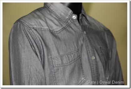 Oswal Denim Slate Denim Shirt