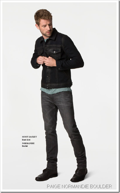 Paige Denim Fall winter 2013 Men's Lookbook