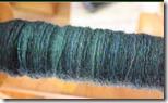 green cast on indigo