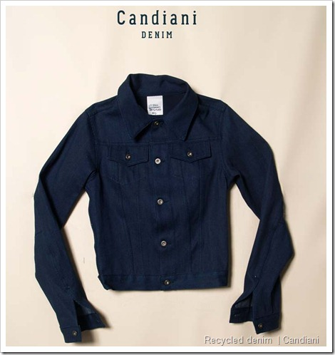 Recycled denim Candiani