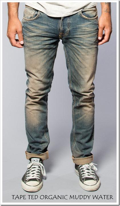 Tube Tom Organic Jeans Nudie