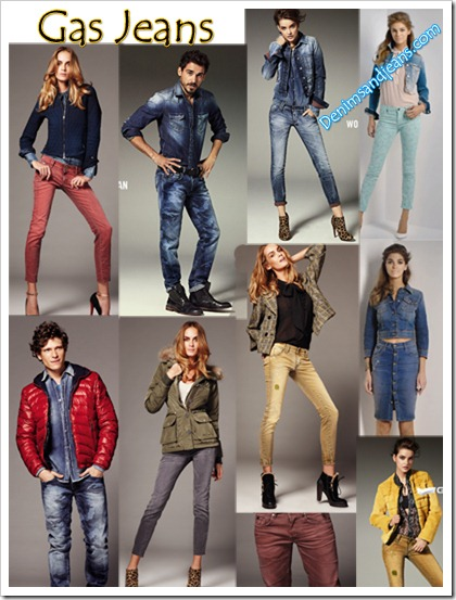 Gas Jeans Cool Looks