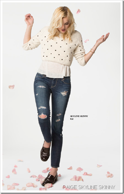 Paige Denim Fall Winter 2013 Women's Lookbook