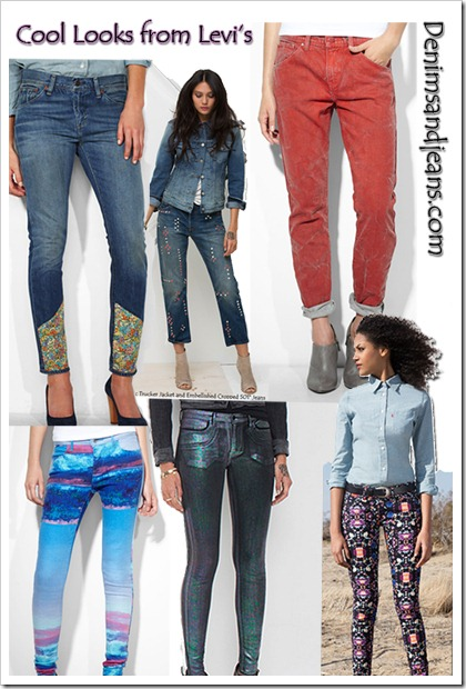 Cool Denim Looks from Levi's