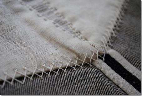 Nadelandpen  stitching
