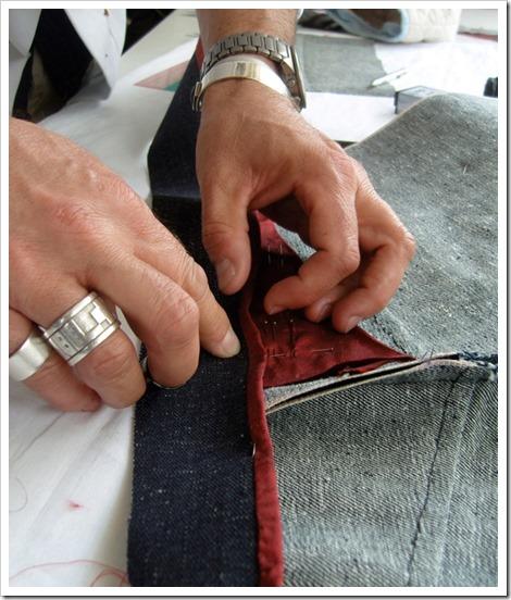 Nadel Pen Stitching