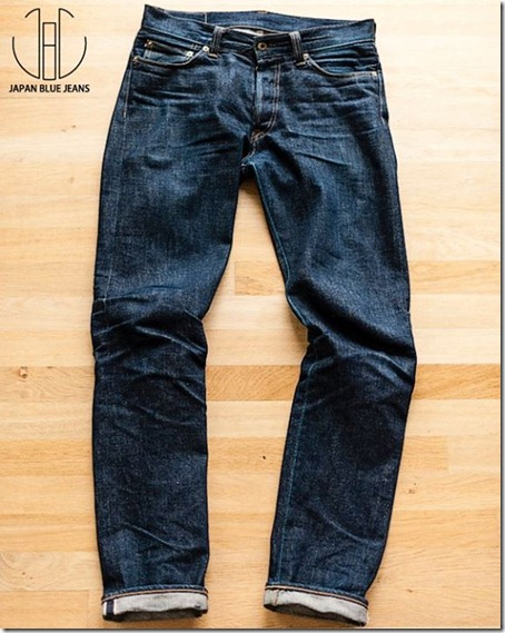 Japan blue denim