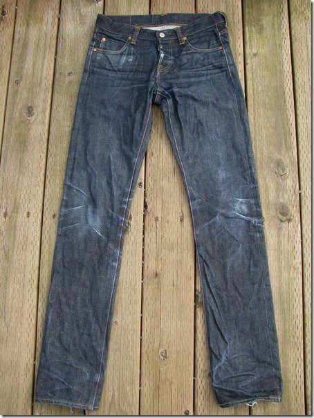 Japan blue - seven months  one wash